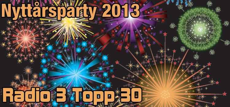 Nyttårsparty: Radio 3 Topp 30